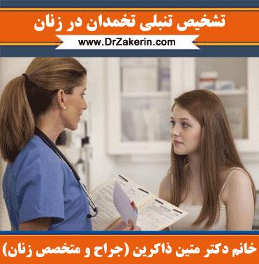 تشخیص تنبلی تخمدان